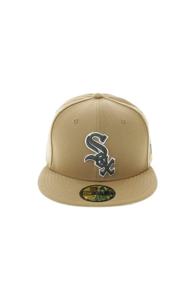 New Era 59Fifty White Sox Fitted Olive/Tan Wheat/Stone