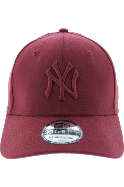 New Era Yankees Tonal 3930 Stretch Fitted Cardinal