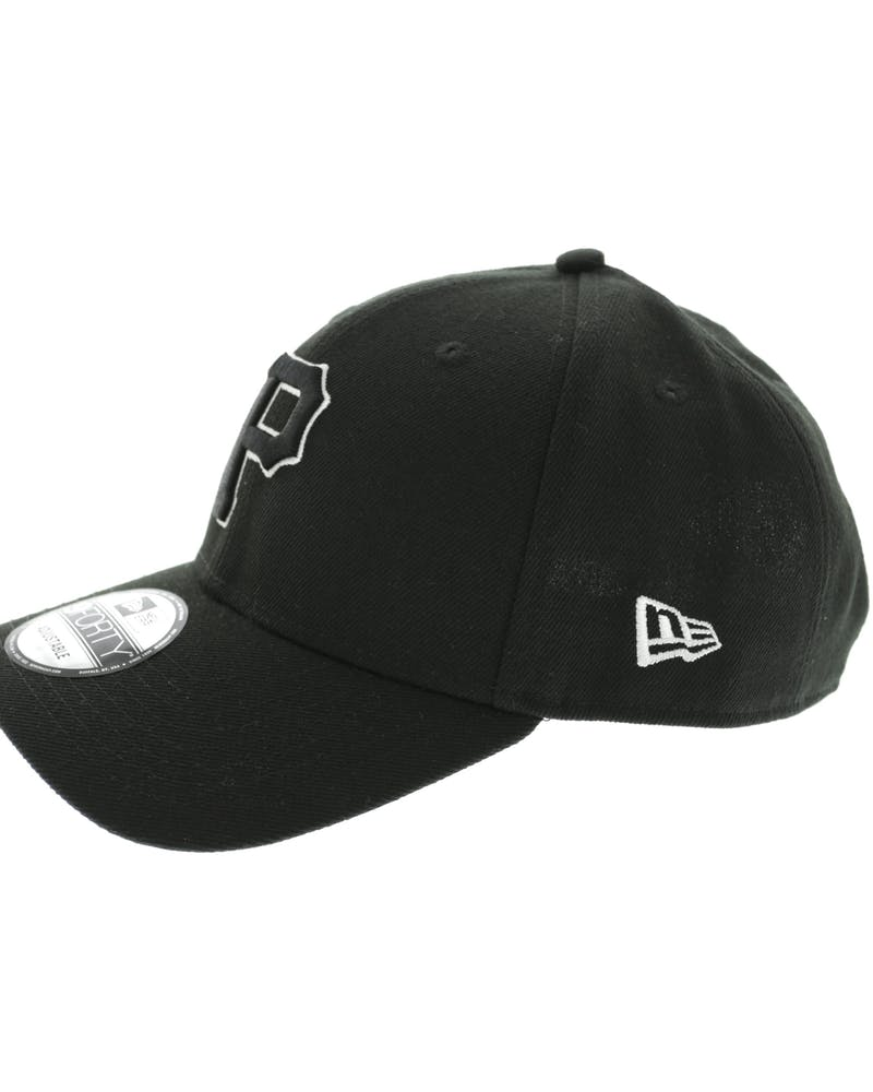 New Era Pirates 9FORTY Outline Snapback Black/White