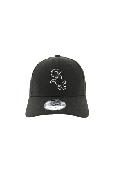 New Era White Sox 940 Outliner Velcroback Black