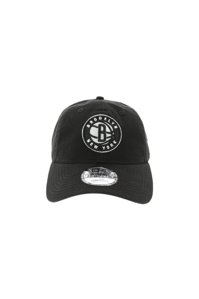 New Era Nets 920 Strapback Black