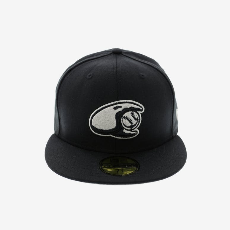 New Era Crabs Minor League 59Fifty Fitted Black Stone – Culture Kings 950155a2d53
