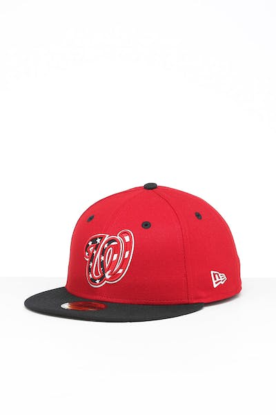 New Era Washington Nationals 59FIFTY ALT 3 Fitted Red/Black/OTC