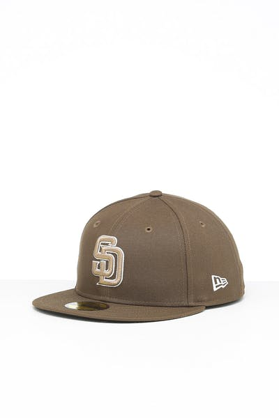 New Era San Diego Padres 59FIFTY ALT Fitted Brown/OTC