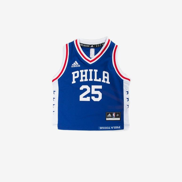 1441cfbd4 Adidas Toddler Ben Simmons Philadelphia 76ers Jersey Blue – Culture ...