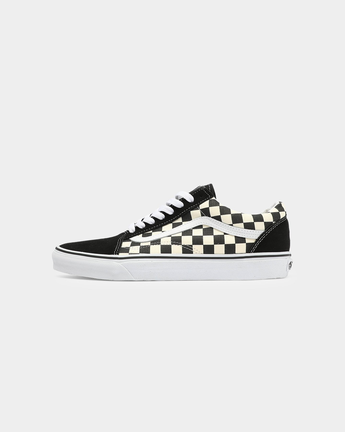 Vans Old Skool (Primary Check) BlackWhite