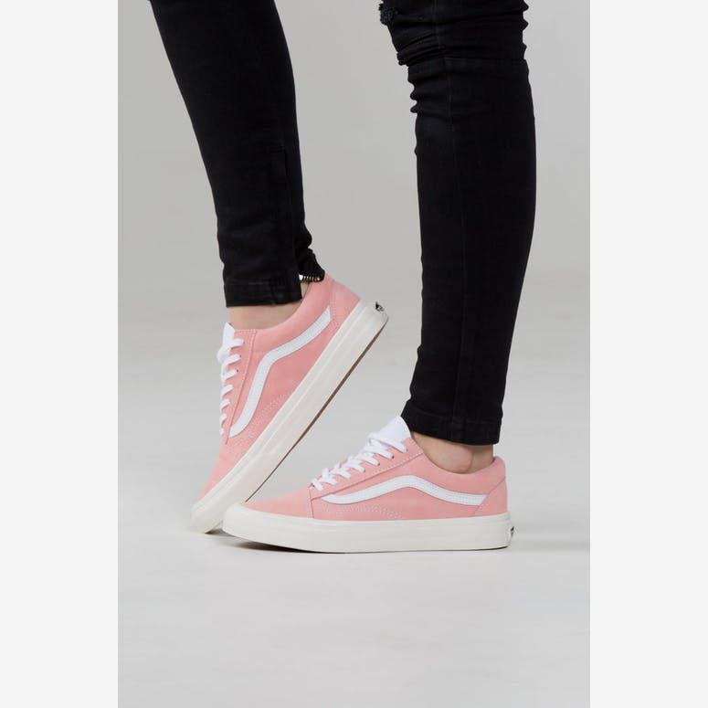 83bd1b9e3183 Vans Women s Old Skool Pink White