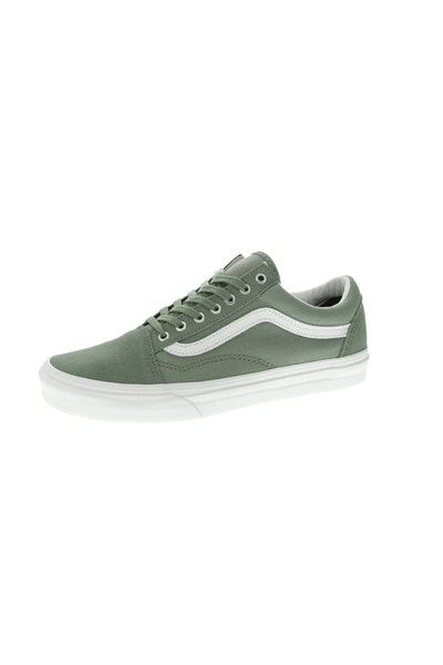 VANS OLD SKOOL (SNAKE) OLIVE/WHITE