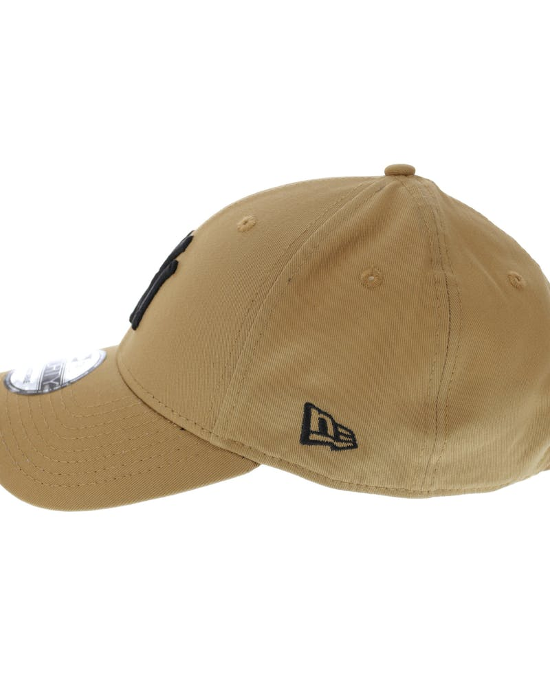 New Era Yankees 9FORTY Strapback Wheat/Black