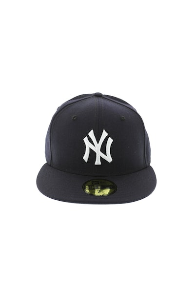 New Era Yankees 59Fifty Grey Undervisor Fitted Navy/Grey