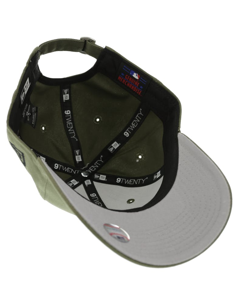 New Era Dodgers 920 Grey UV Olive/Grey