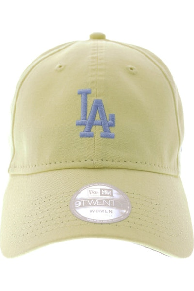 New Era Dodgers 920 Women's Strapback Yellow