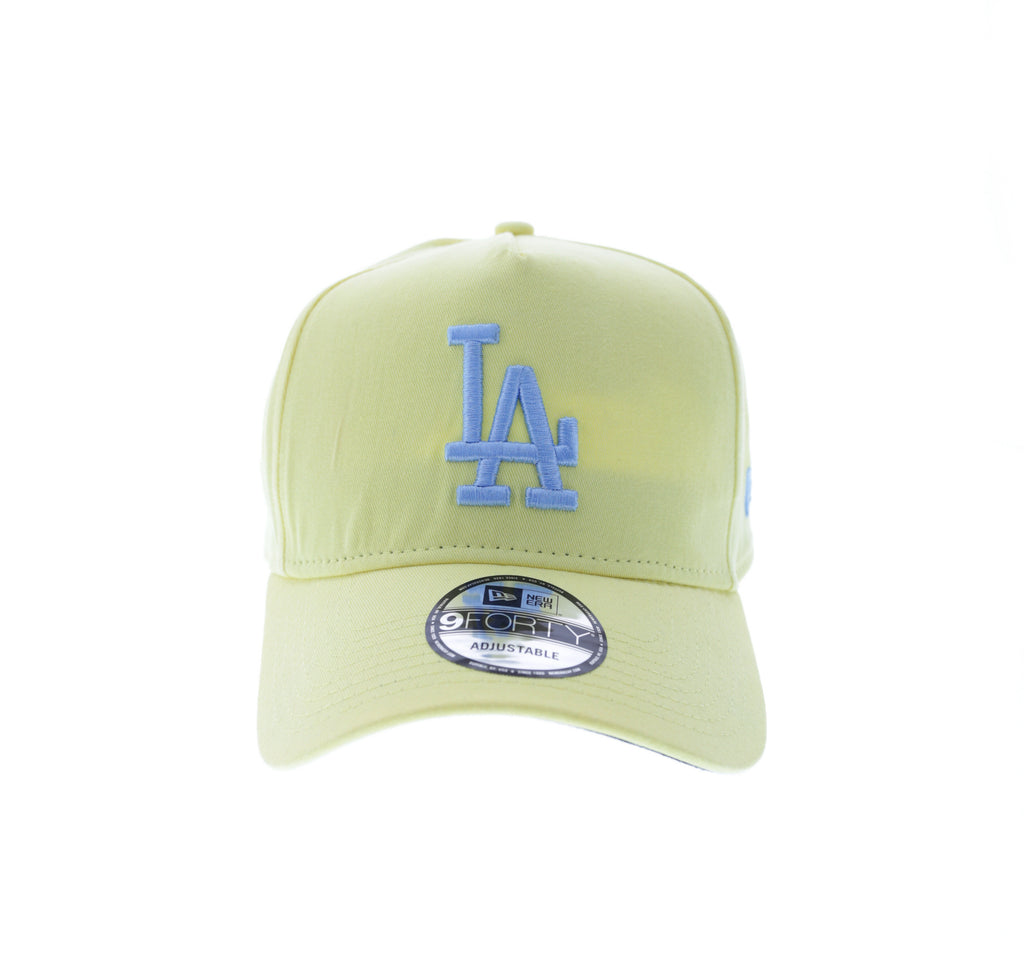 cheap for discount eccfd 97ade ... authentic new era dodgers 9forty a frame snapback yellow 58796 c9805