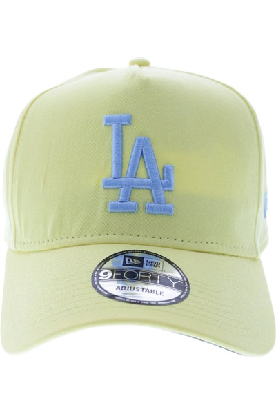 New Era Dodgers 940 A-Frame Snapback Yellow