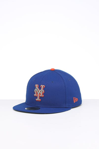 New Era New York Mets 59FIFTY ALT Fitted Blue/OTC