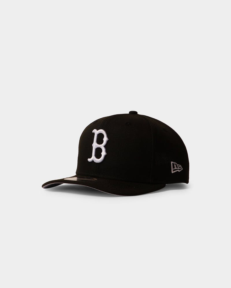 New Era Red Sox 9FIFTY Precurved Black/White