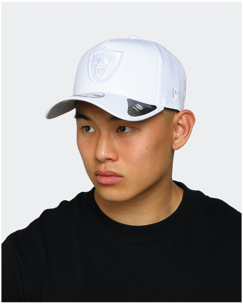 New Era Raiders 9FORTY A-Frame White