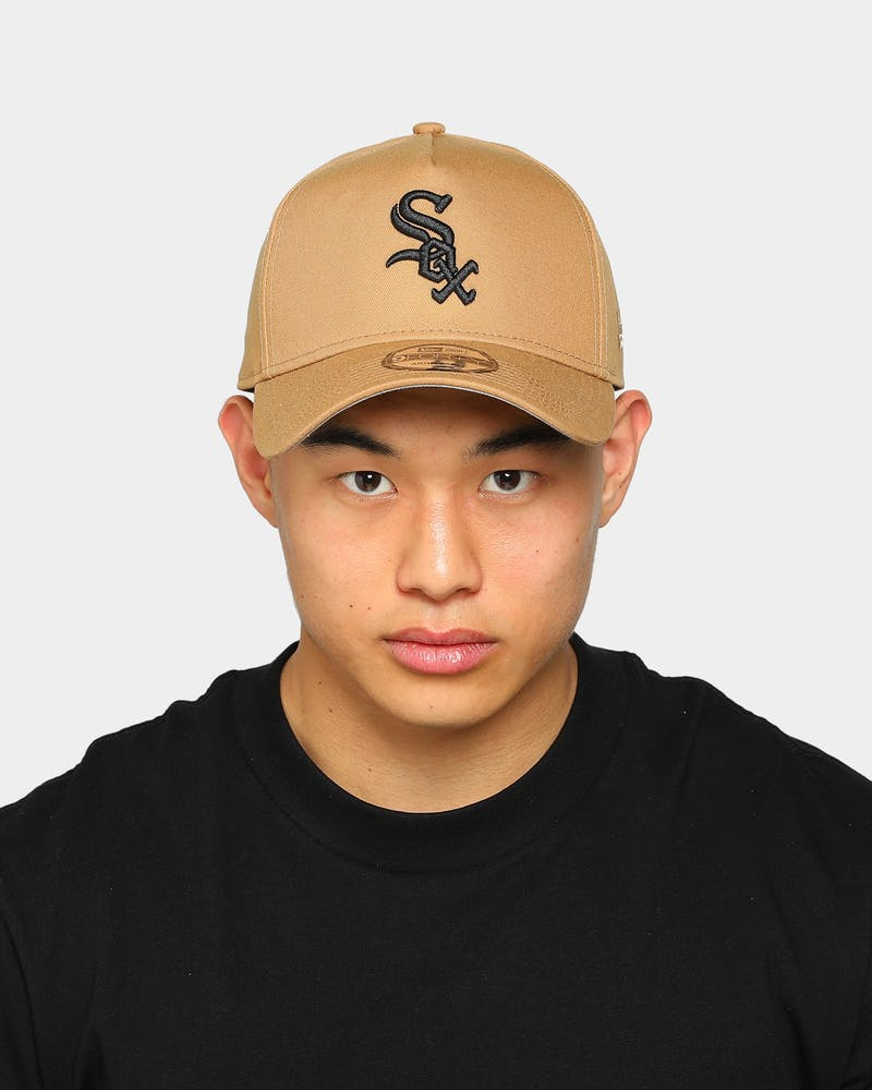 New Era White Sox 9FORTY A-Frame Wheat