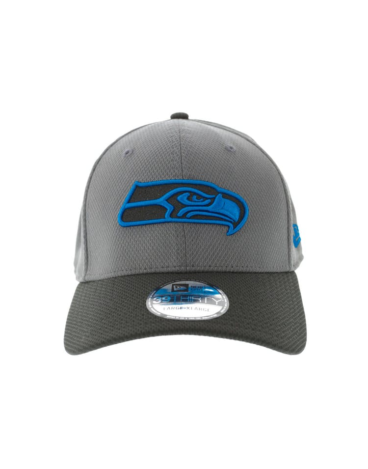 ed2c60b6 New Era Seattle Seahawks Neon Pop 3930 Fitted Graphite – Culture Kings
