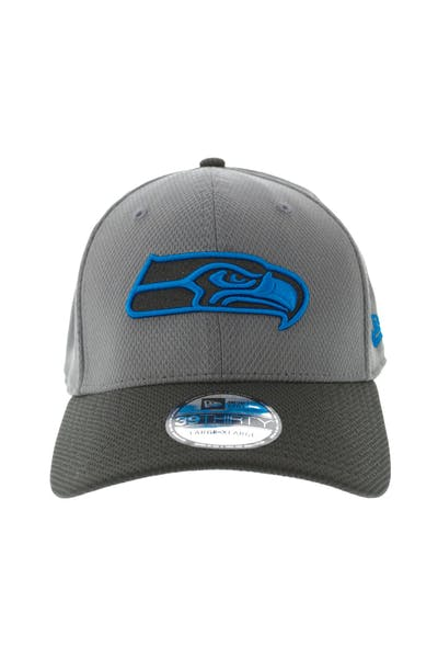 quality design 00fd6 7023b New Era Seattle Seahawks Neon Pop 3930 Fitted Graphite