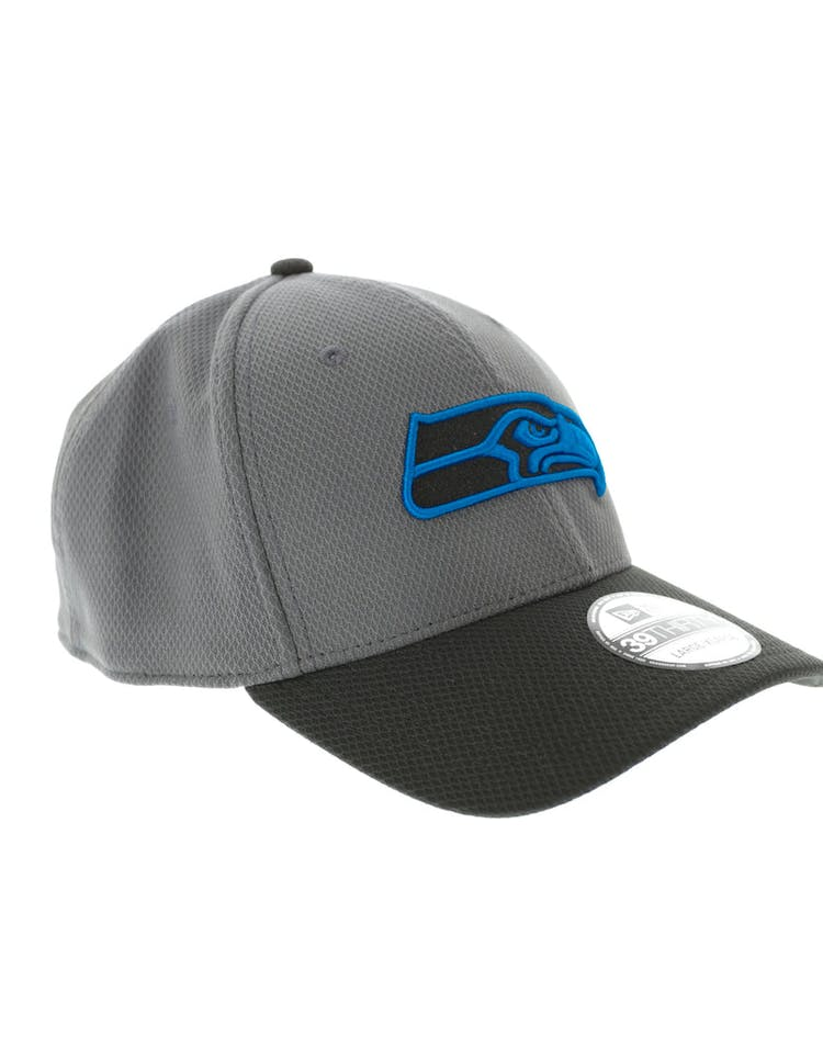 quality design 040cb 8bf00 New Era Seattle Seahawks Neon Pop 3930 Fitted Graphite