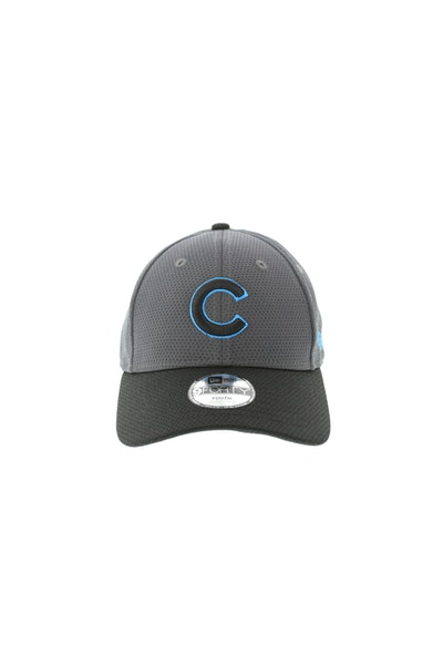 New Era Youth Chicago Cubs Neon Pop 940 Velcroback Graphite/Black