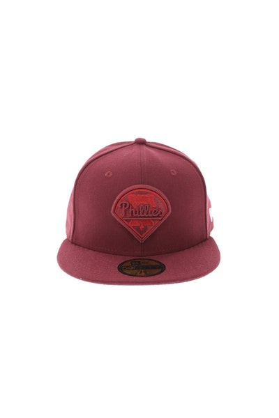 New Era Philadelphia Phillies 5950 Tonal Fitted Cardinal