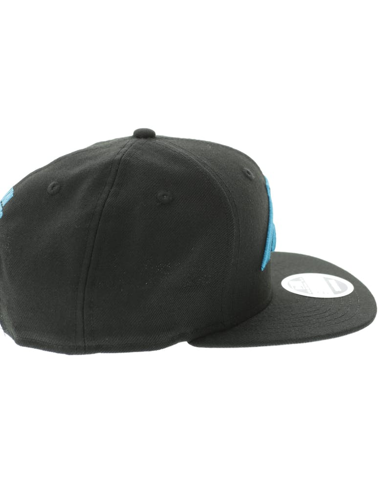 New Era Carolina Panthers 950 Original Fit Grey Undervisor Snapback Black