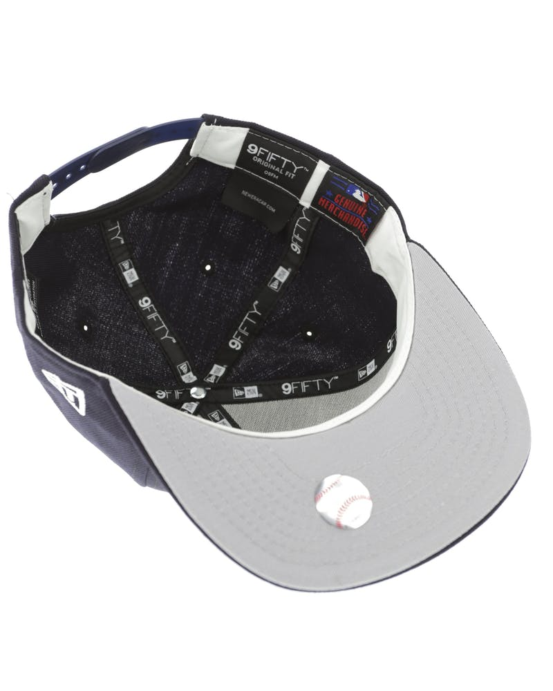New Era Los Angeles Dodgers 950 Original Fit Grey Undervisor Snapback Dark Navy