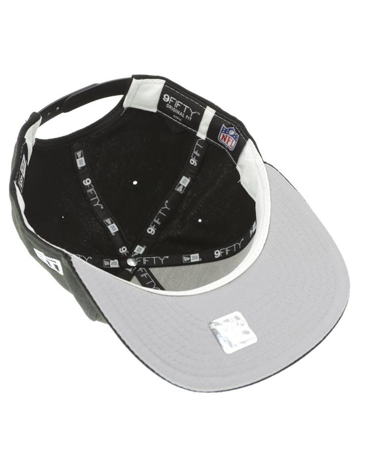 outlet store dbcba 63d89 New Era Buffalo Bills 950 Original Fit Grey Undervisor Snapback Black