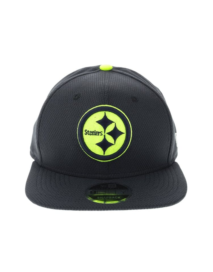 724641f3 New Era Pittsburgh Steelers Neon Pop 950 Original Fit Snapback Navy