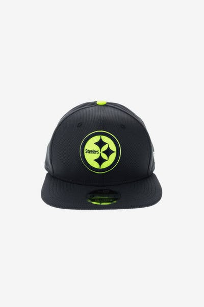 a1ab9e8d2 New Era Pittsburgh Steelers Neon Pop 950 Original Fit Snapback Navy