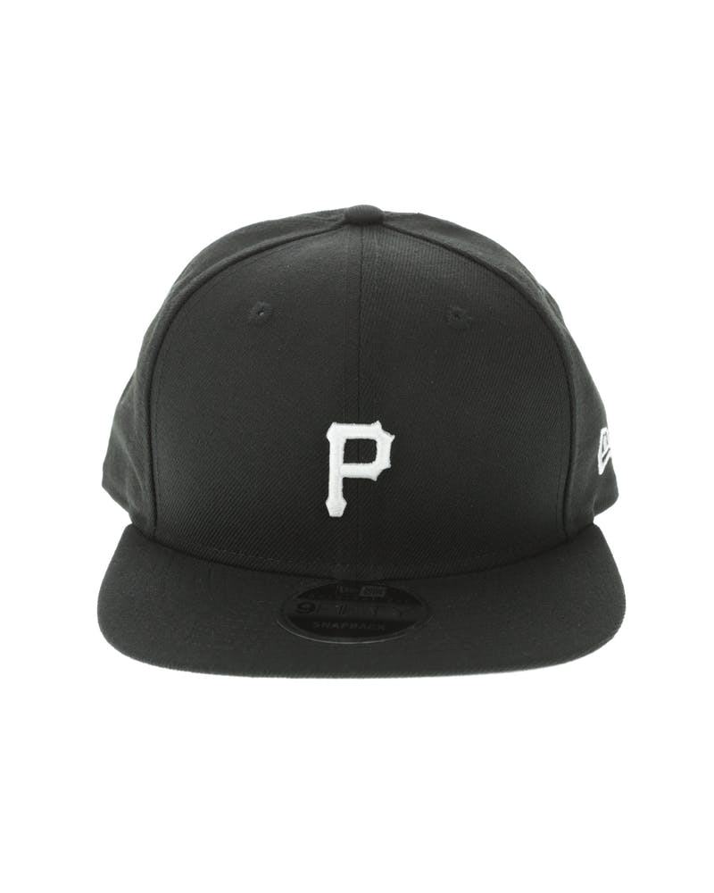 New Era Pittsburgh Pirates Mini Logo 9FIFTY Original Fit Snapback Black/White
