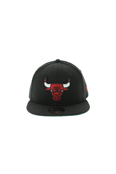 New Era Chicago Bulls Youth 950 Snapback Black