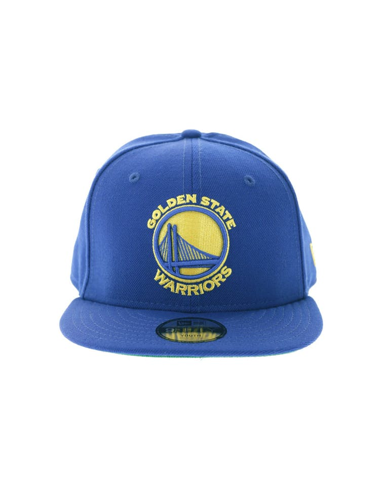 048475bdda839f New Era Golden State Warriors Youth 9FIFTY Royal – Culture Kings
