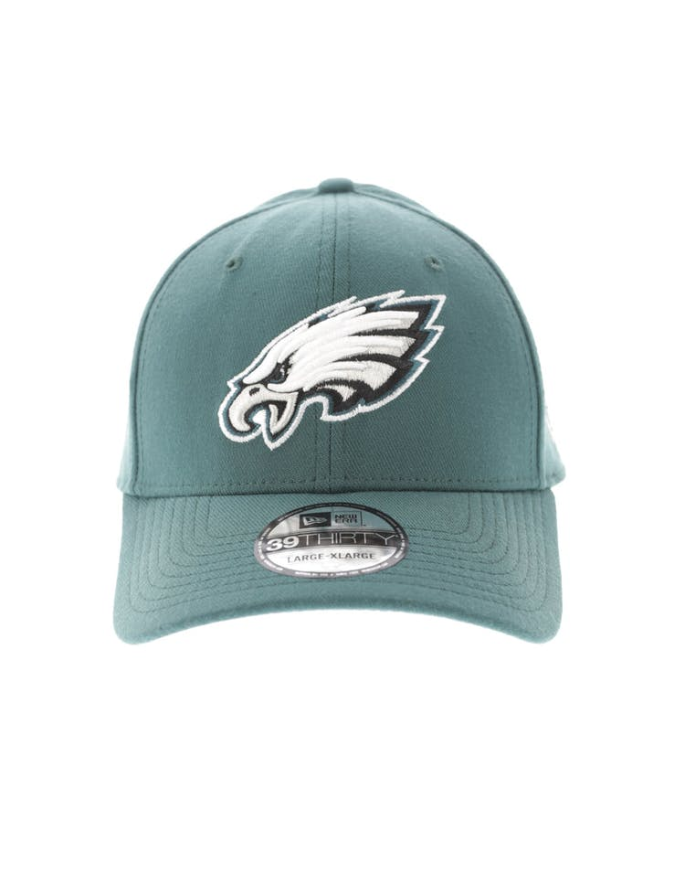 huge discount 65ad2 00afc New Era Philadelphia Eagles Logo 3930 Fitted Green – Culture Kings