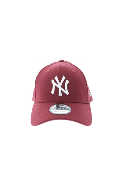 New Era New York Yankees Grey Undervisor 3930 Fitted Cardinal