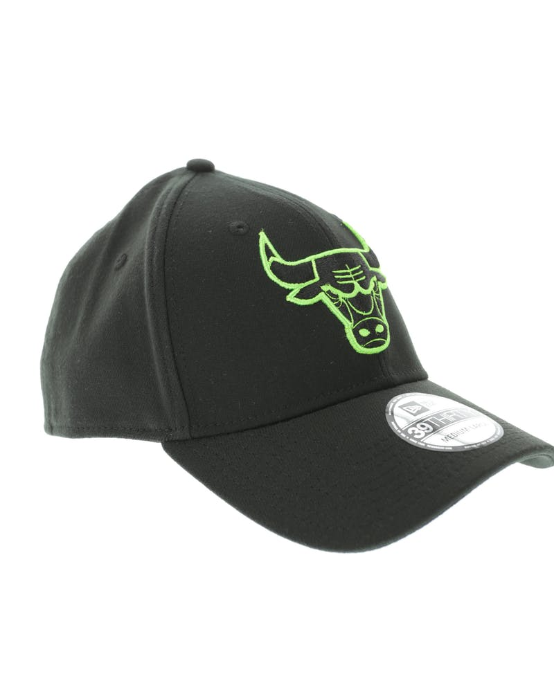 New Era Chicago Bulls Neon Pop 3930 Fitted Black/Green