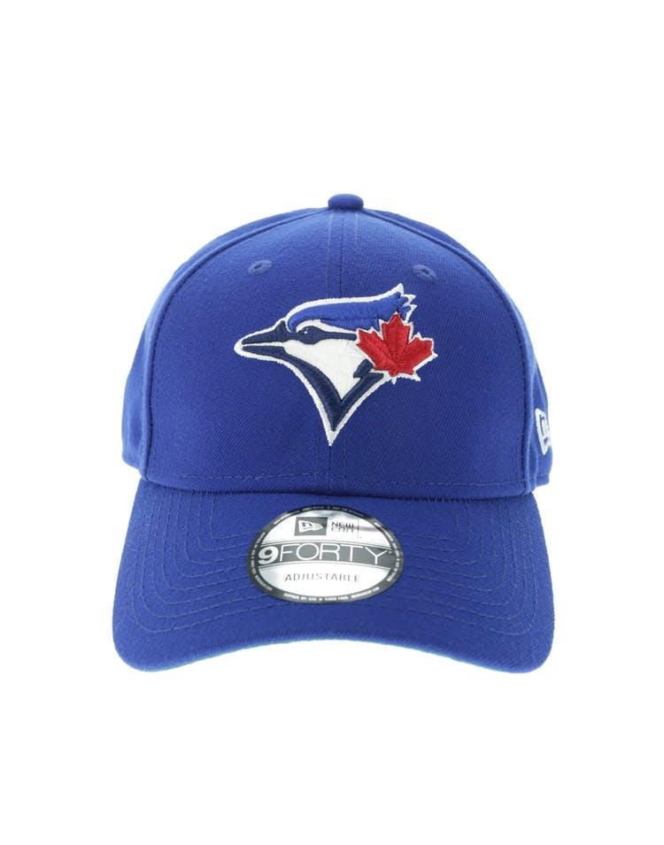 new style 57a9c 634c8 New Era Toronto Blue Jays 9FORTY Green Undervisor Snapback Royal – Culture  Kings