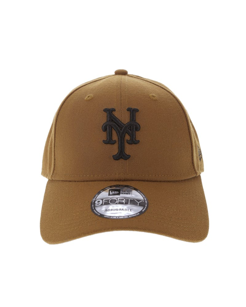 New Era New York Mets Season Colours 9FORTY Snapback Toasted Peanut