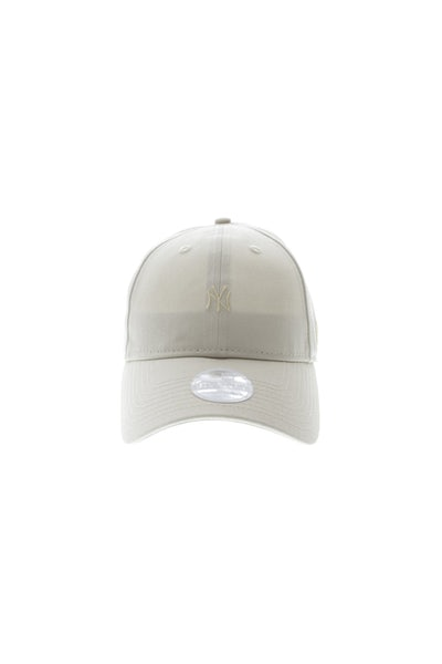 New Era New York Yankees Mini Logo 920 Ladies Strapback Stone