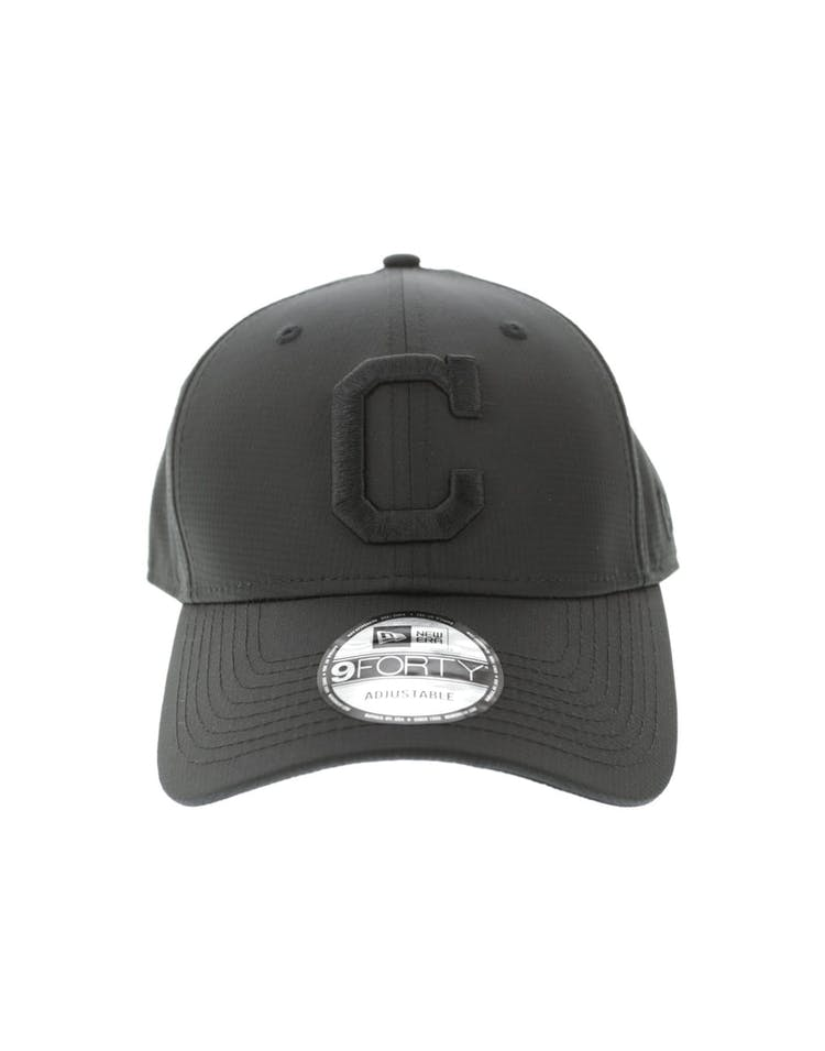 new style 3779d 81e9a New Era Cleveland Indians 940 Ripstop Snapback Black – Culture Kings