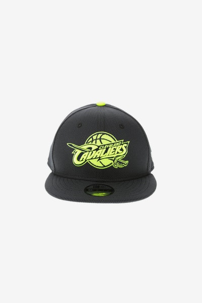 08d408a9f69 New Era Cleveland Cavaliers Youth Neon Pop 9FIFTY Snapback Navy