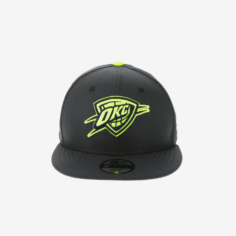 New Era Oklahoma City Thunder Youth Neon Pop 9FIFTY Snapback Navy – Culture  Kings ca494a66c9fe