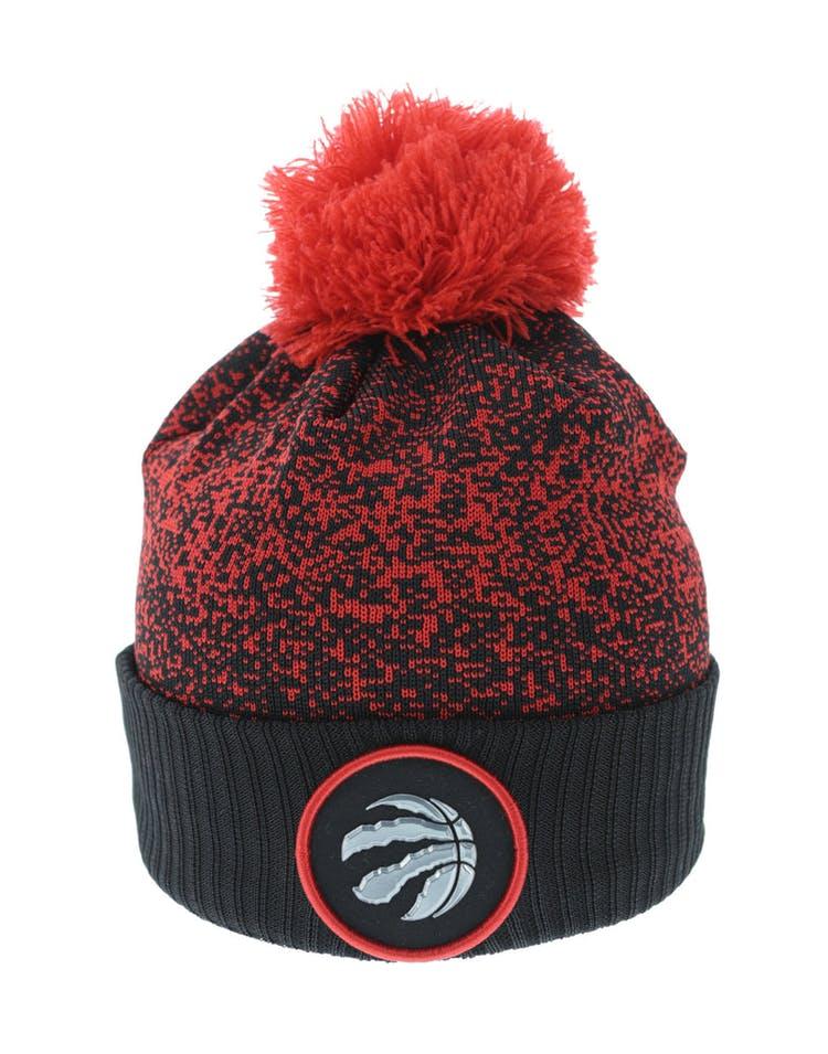 0a855243f New Era Toronto Raptors Logo Beanie Black/Red – Culture Kings