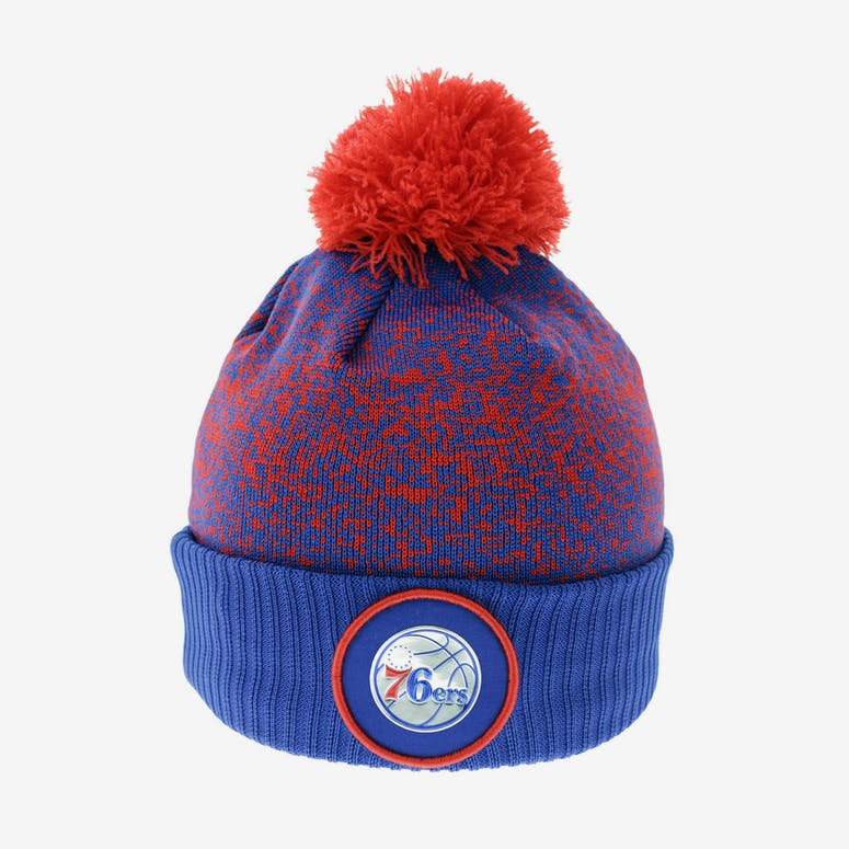 New Era Philadelphia 76ers Logo Beanie Royal Red – Culture Kings 119638301