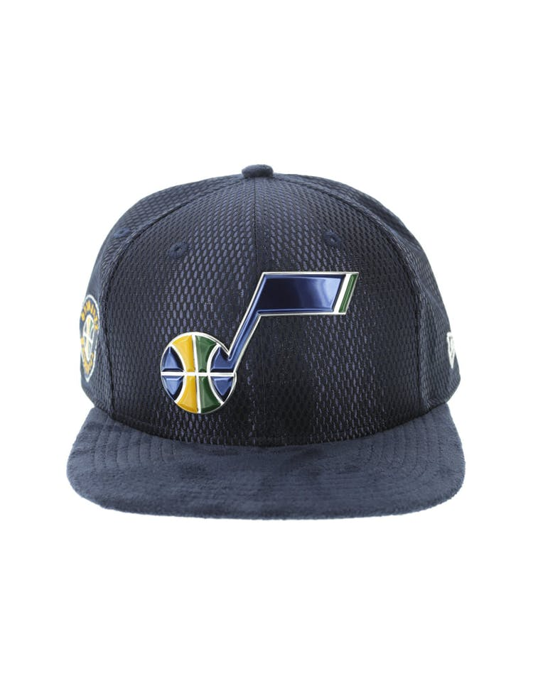 newest 7262c 39298 New Era Utah Jazz 9FIFTY Original Fit On-Court Collection Draft Snapba –  Culture Kings