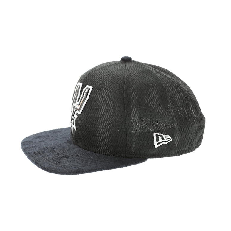 newest collection e3e04 353af New Era San Antonio Spurs 9FIFTY Original Fit On-Court Collection Draf –  Culture Kings