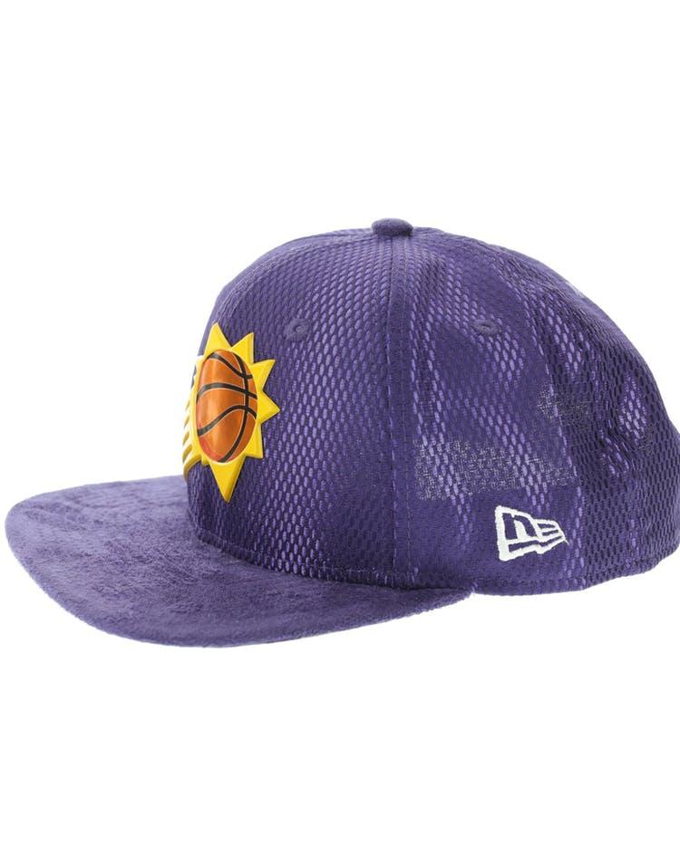 on sale c7908 ccc5d New Era Phoenix Suns 9FIFTY Original Fit On-Court Collection Draft Snapback  Purple