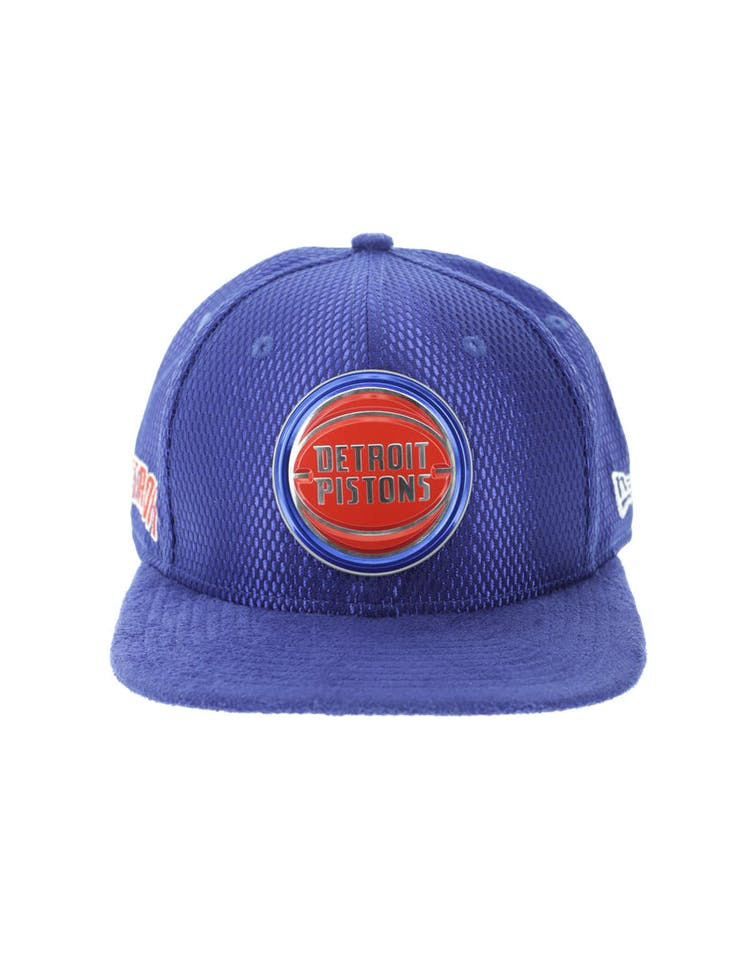 watch 3b4cf f3e8b New Era Detroit Pistons 9FIFTY Original Fit On-Court Collection Draft – Culture  Kings